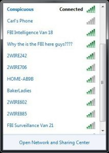 FBI wifi internet