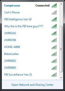 FBI wifi internet