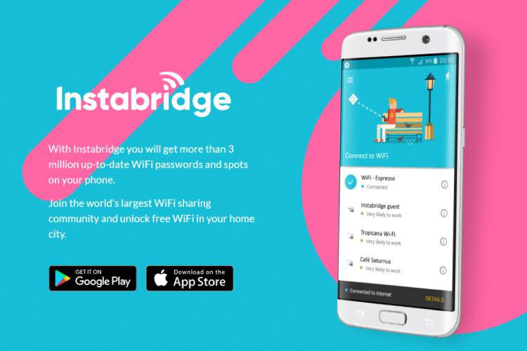 ingyenes wifi helyek keresője: az Instabridge használata néhány lépésben