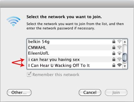 Wifi üzenet a szomszédnak
