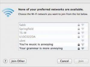 Zene - helyesírás hotspot, vezeték nélküli hálózat