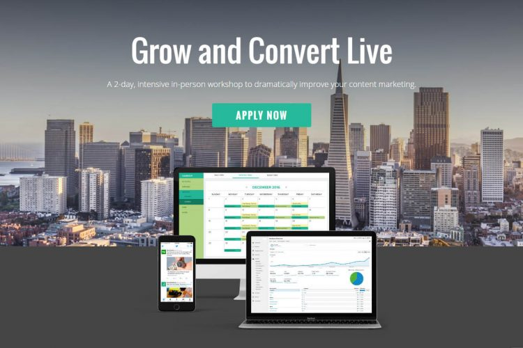 grow and convert