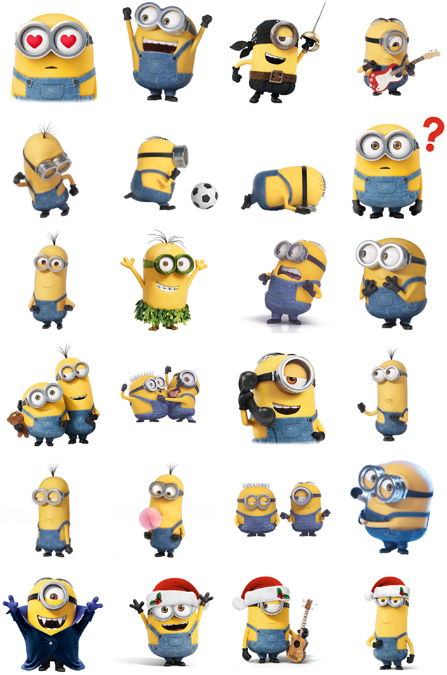 minion facebook matrica