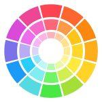 nyugtató színek
