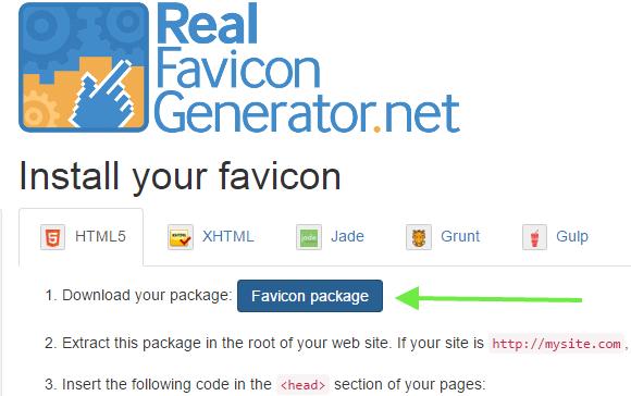 real favicon program
