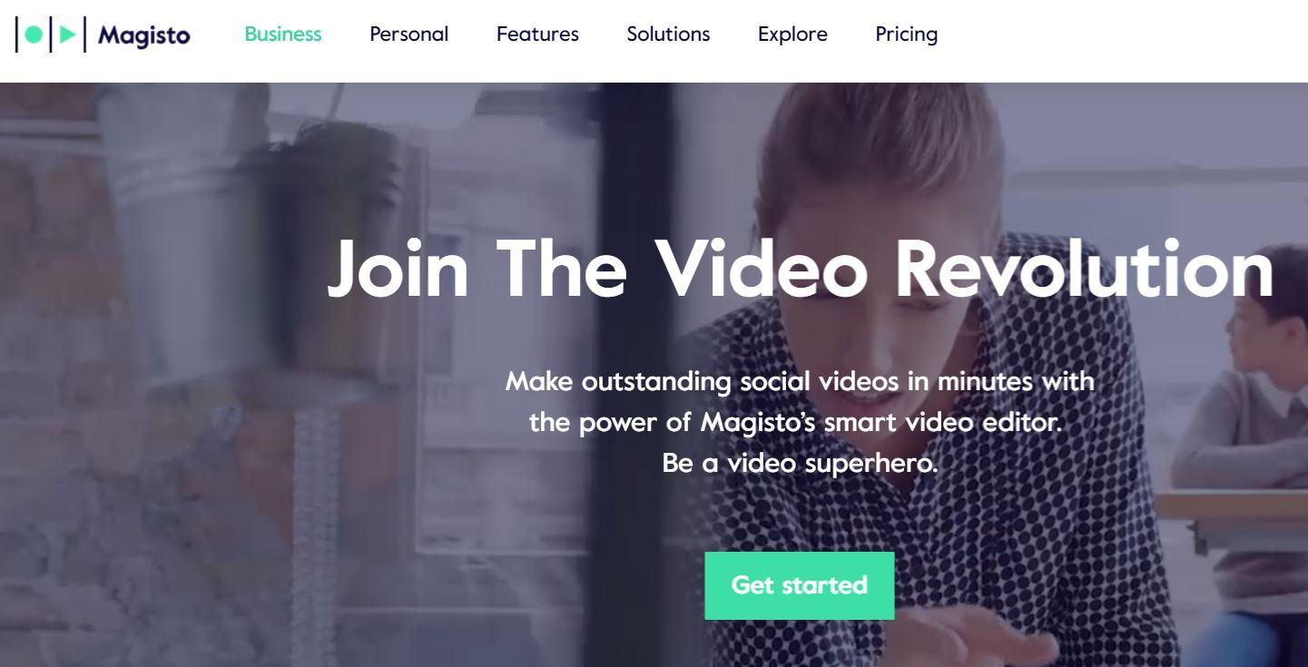 video készítése képekből, zenével a Magisto segítségével