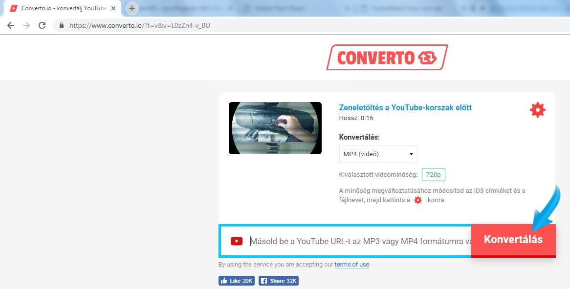 converto youtube