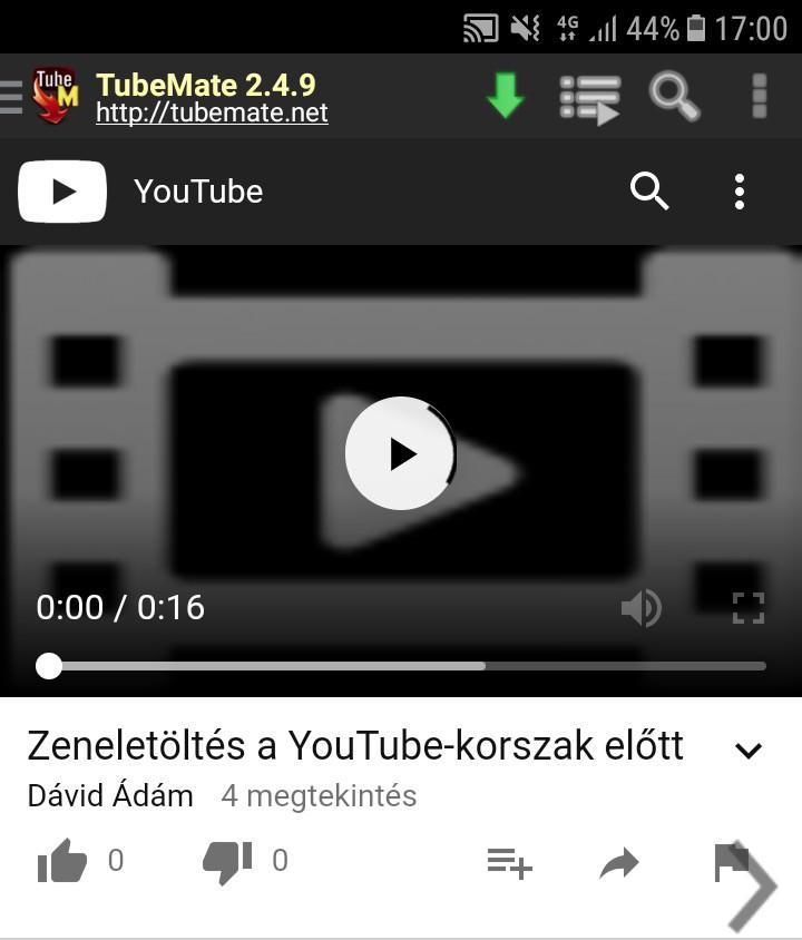 zene youtube letöltés